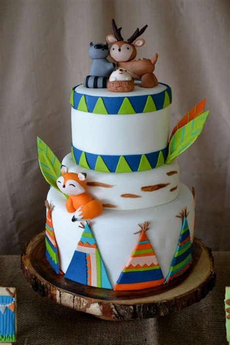 woodland themed camping birthday party camping themed