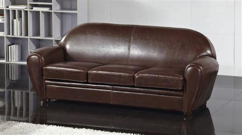 magasin de canapé en cuir canapé cuir 3 places ultra confort jazzy mobilier moss