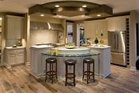 interesting circle kitchen plan 55 Incredible Kitchen Island Ideas | Ultimate Home Ideas