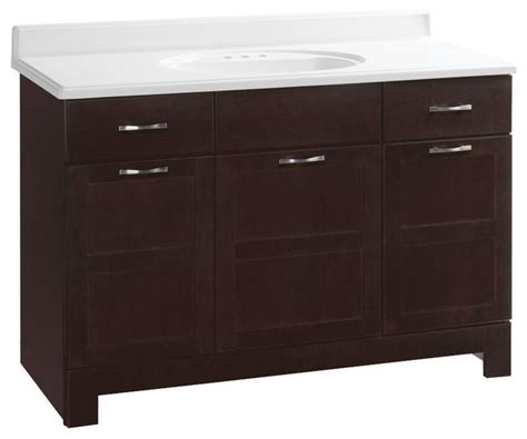 glacier bay bathroom cabinets glacier bay cabinets casual 48 in w x 21 in d x 33 1 2