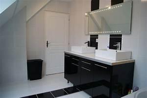 fabriquer meuble salle de bain avec meuble cuisine With salle de bain avec meuble de cuisine