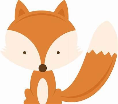 Fox Clipart Woodland Transparent Svg Cartoon Animal