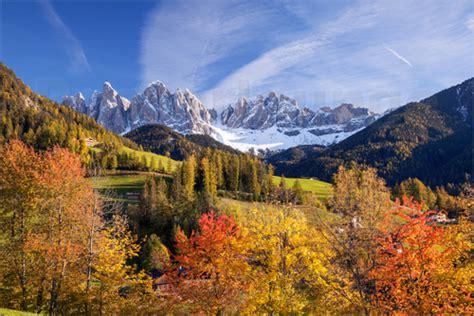 Matteo Colombo Herbst In Funes Tal, Dolomiten, Südtirol