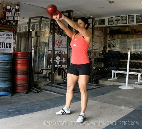 kettlebell swings overhead everett traditional crossfit greg olympic weightlifting catalystathletics