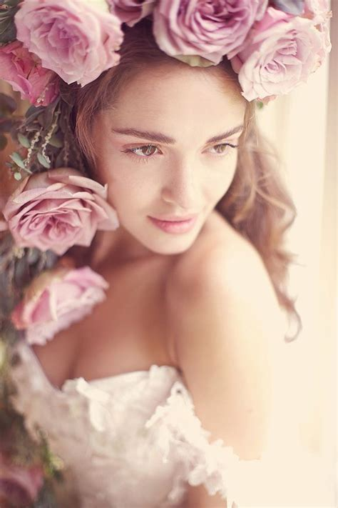 roses   hair pink wedding photography flowers