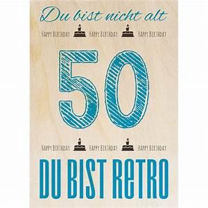 Was Ist Retro : geburtstag retro 50 die magnetische holzpostkarte von woodcardz ~ Eleganceandgraceweddings.com Haus und Dekorationen