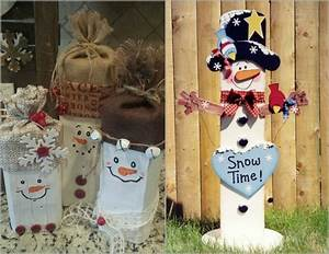 Creche De Noel En Bois A Faire Soi Meme : bonhomme de neige faire soi m me 12 id es super mignonnes ~ Dallasstarsshop.com Idées de Décoration