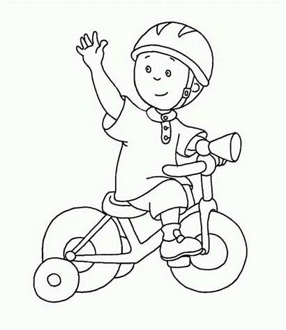 Coloring Bike Riding Child Helmet Tricycle Dirt