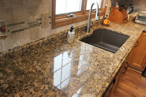 granite countertop with tile backsplash middleburg
