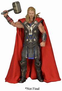 NECA Official Image Of 1/4th Scale Avengers Thor