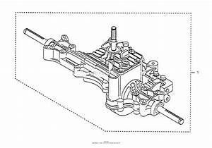 Husqvarna Tuff Torq K55j Transaxle Parts Diagram For Transaxle Kit Assy