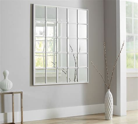 pottery barn mirror eagan multipanel large mirror white pottery barn cococozy