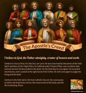 Apostles Creed Catholic