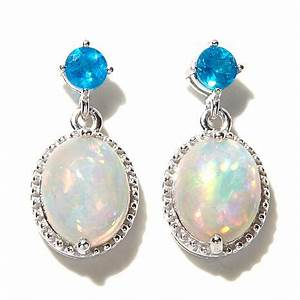 Colleen Lopez Opal and Gemstone Sterling Silver Drop