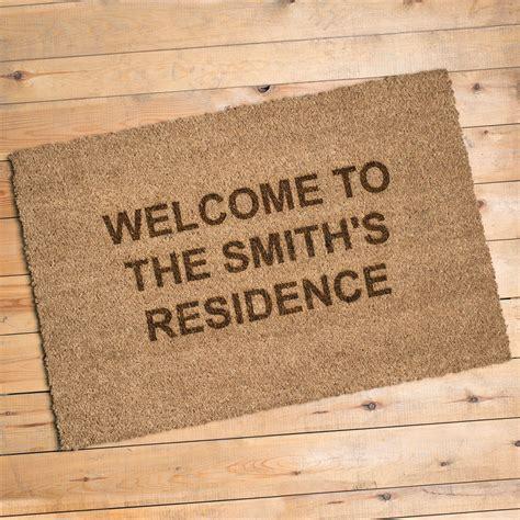 personalised doormat uk personalised door mat gettingpersonal co uk