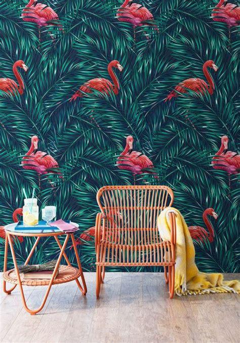 Tapisserie Flamant by 1001 Mod 232 Les De Papier Peint Tropical Et Exotique