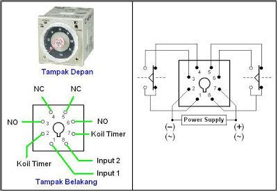 3 wiring diagram relay omron h3cr a8