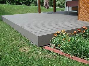 Terrasse Wpc Grau : galerie kategorie terassenb den bild wpc terrasse grau mit dichtgummi 1 ~ Markanthonyermac.com Haus und Dekorationen