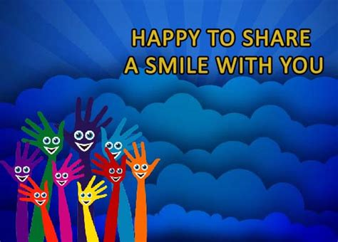 share smile friend share smile day ecards