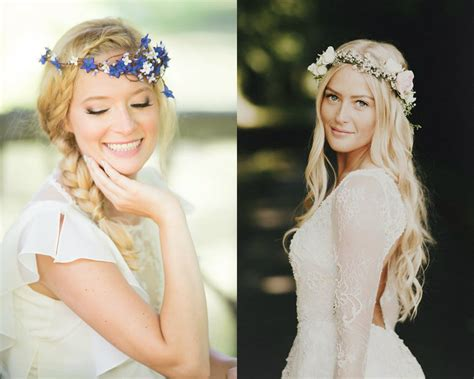 flower crown wedding hairstyles hairstyles