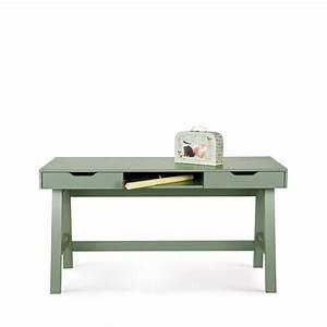 Bureau En Pin : bureau enfant en pin massif nikki by drawer ~ Teatrodelosmanantiales.com Idées de Décoration