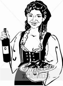 Italian Hostess Clipart   Beverage Clipart