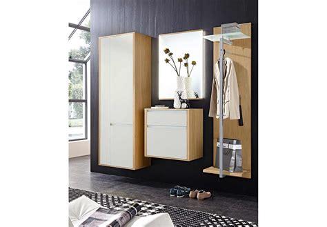 Leinkenjost Garderobe Bari Mit Satinato-oberfläche In Weiß