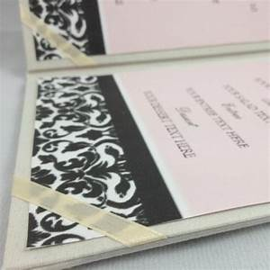 menu card silk holder in folder style luxury wedding With plain pocket wedding invitations