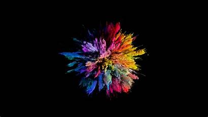 Explosion Wallpapers Slow Colors Blast Motion Abstract