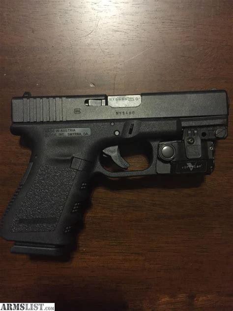 glock 23 tactical light armslist for glock 23 gen3 with viridian c5l laser