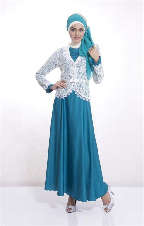 gamis pesta modern images  pinterest hijab