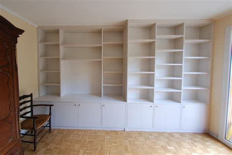 espace placard realisations bibliotheques  meubles