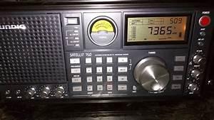 Grundig Satellit 750 With Ssb Shortwave Radio Reception