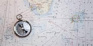 Navigation Chart And Compass Hd Wallpaper