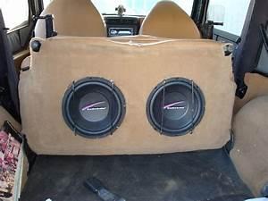 Jeep Wrangler Subwoofer Box Plans