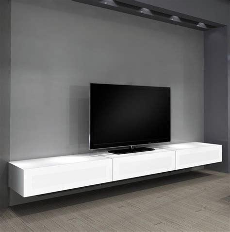 floating shelves entertainment center  innovative space