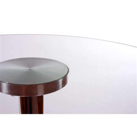table de bar en verre table de bar en verre transparent