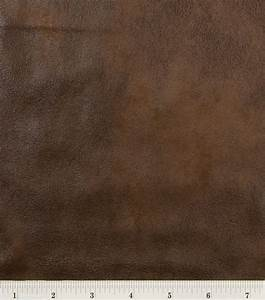 Microsuede Fabric-Brown Distressed Jo-Ann