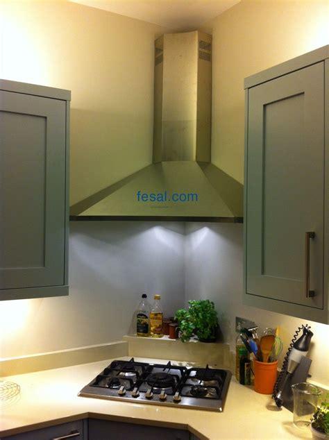 Falmec Design Elios Wall Corner Kitchen Hood   Kitchen
