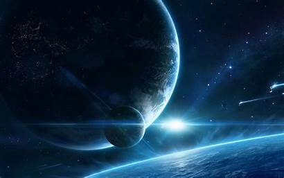 Space Planet Satellite Outer Background Widescreen Standard