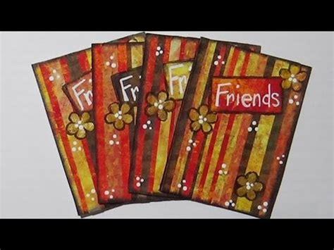 artist trading cards mixed media atcs gelli print