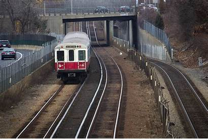 Mbta Line Train Wbur Station Braintree Fleet