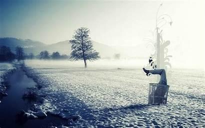 Wonderland Winter Alice Trash Wallpapers Artistic Background