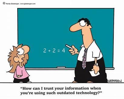 Cartoon Systems Management Business Teacher Student Trust