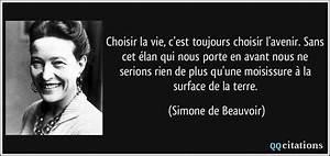 Choisir La Vie  C U0026 39 Est Toujours Choisir L U0026 39 Avenir  Sans Cet