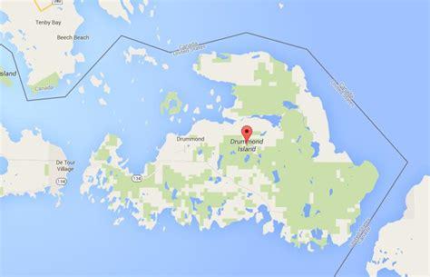 map  drummond island