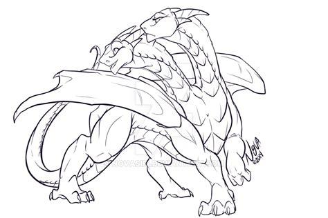 hydra dragon female concept  novasiri  deviantart