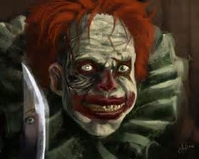 Evil Bloody Creepy Scary Clowns