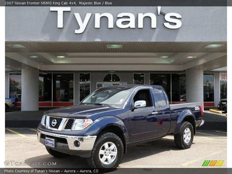 2007 Nissan Frontier Nismo King Cab 4x4 In Majestic Blue