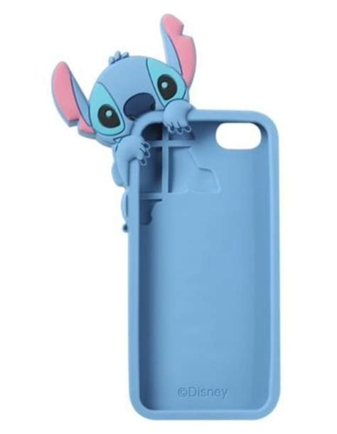 stitch phone iphone 5s disney lilo and stitch rubber iphone 5 5s cell phone 3 d